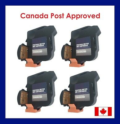 NEOPOST IJ25 Postage Meter Ink Cartridge 3300028D/STA25 - FREE SHIPPING (4 PACK)