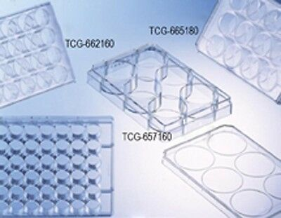 ***Sterile* Greiner Tissue Culture 96-well Plates w/lid Flat Bottom 100/CS