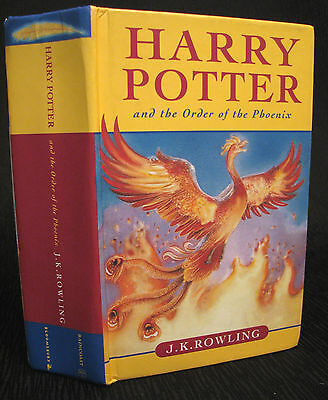SIGNED Harry Potter and the Order of the Phoenix Canadian 1st (2003) Acceptable