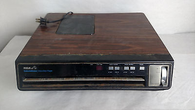 RCA SelectaVision Video Disc Player SFT 100 W PARTS OR REPAIR VIDEO AUDIO MODE