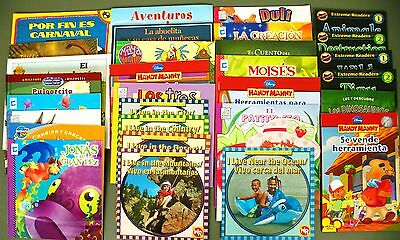 Lot In Spanish 31 kids story picture books/early readers Peter Rabbit/Dora