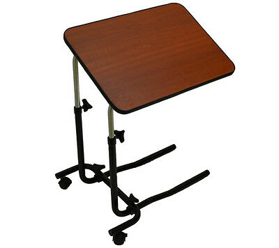 Over Bed / Chair Table with Adjustable Height & Angle Table Top