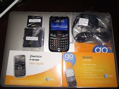 ~*~ Brand New Unlocked Pantech Link P7040p Gray  AT&T GSM Cellular Phone Qwerty