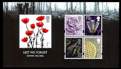 GB - Lest we Forget Miniature Sheet - 2006 - MS2685 - Unmounted Mint