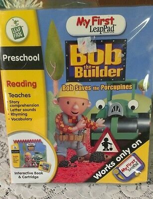 My first LeapPad Bob Saves the Porcupines LeapFrog Reading/Phonics Boys & Girls