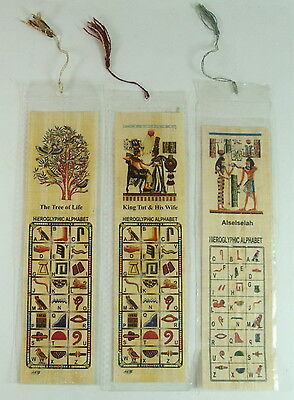 20 Egyptian Large Papyrus Book Marks Lot Wholesale