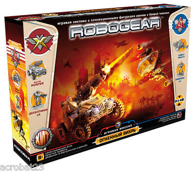ROBOGEAR Fiery Whirlwind, Action Models Game Set, 1/48 Scale, Plastic, NEW