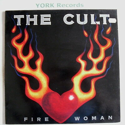 """CULT - Fire woman - Excellent Condition 12"""" Single"""