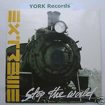 """EXTREME - Stop The World - Excellent Con 12"""" Single"""