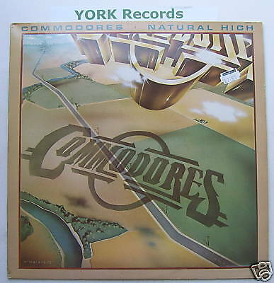 COMMODORES - Natural High - Excellent Con LP Record