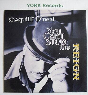 "SHAQUILLE O'NEAL - You Can't Stop The Reign - Ex Con 12"" Single MCA INT 95522"