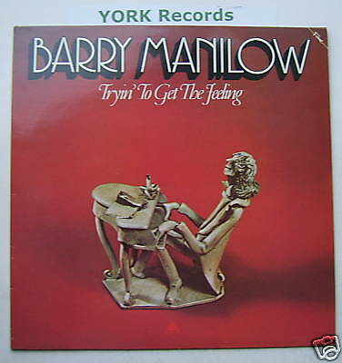 BARRY MANILOW -Tryin' To Get The Feeling - Ex LP Record