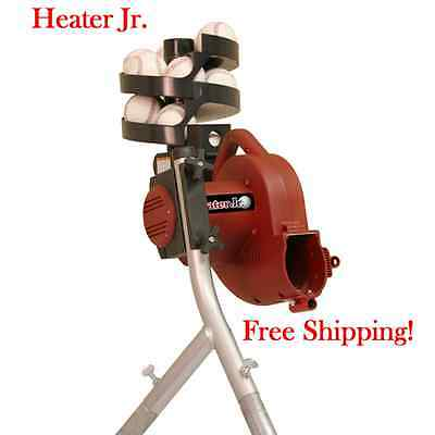 Brand New! Heater Jr. Pitching Machine For A Batting Cage