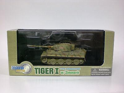 Dragon Armor 1:72 Scale Tiger I Late Production w/Zimmerit Item No. 60021