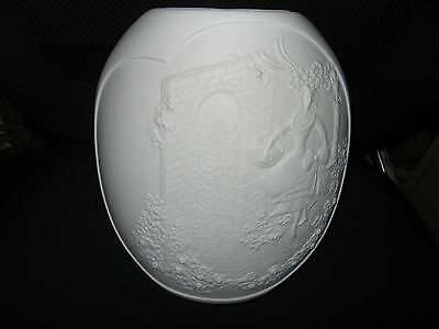 LOVELY WHITE KAISER LARGE VASE - LADY