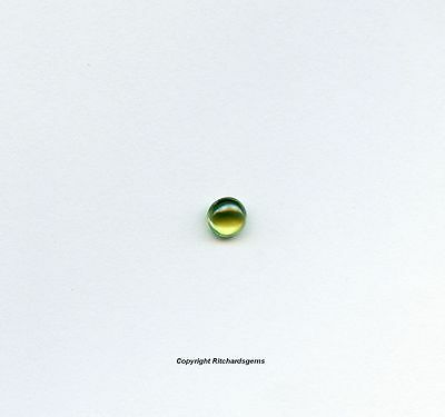 5mm Loose Round Cabochon Natural Tsavorite Garnet for One
