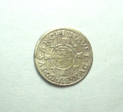 UNKNOWN MEDIEVAL SILVER COIN 1693