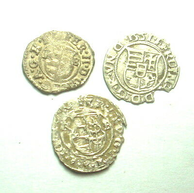 UNKNOWN MEDIEVAL SILVER COINS