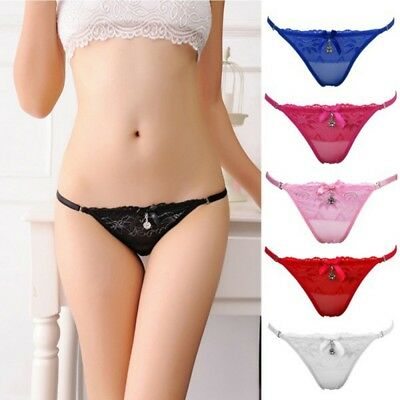 Women Ladies Sexy Thongs Gstring Vstring Panties Knickers Lingerie Underwear Hot