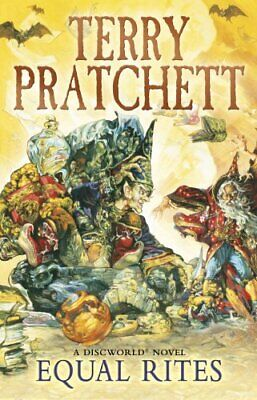 Equal Rites: A Discworld Novel: 3 by Pratchett, Terry Paperback Book