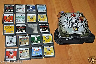 A2 LOT OF 20 NINTENDO DS DSI LITE XL GAMES   FREE SHIPPING