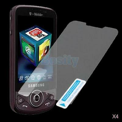 4x 3 x LCD Screen Protector for Samsung Behold II SGH-T939