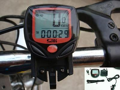 BUUK Cycling Bike Bicycle Cycle Computer Odometer Speedometer Waterproof