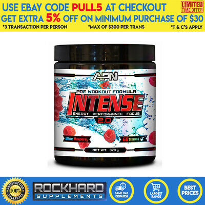 Athletic Performance Nutrition - Intense 2.0 Pre Workout - 60 Serves - Apn