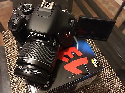 Canon EOS Rebel T3i / 600D 18.0 MP Digital SLR Camera - Black (Kit w/ EF-S IS II