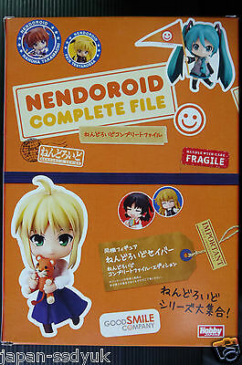JAPAN Nendoroid Complete File (with Fate/stay night, Saber figure)