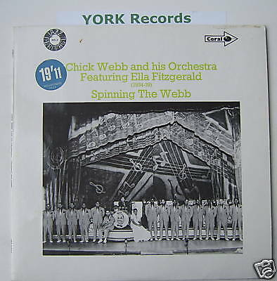 CHUCK WEBB - Spinning The Webb - Ex Con LP Record