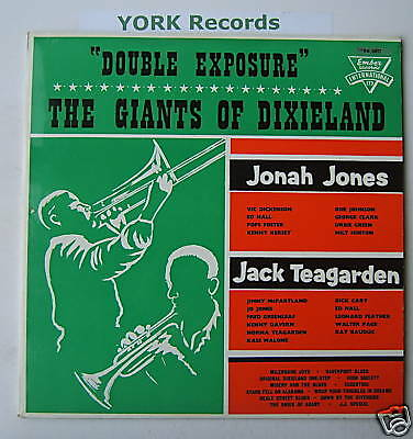 JACK TEAGARDEN / JONAH JONES - Double Exposure - Ex LP