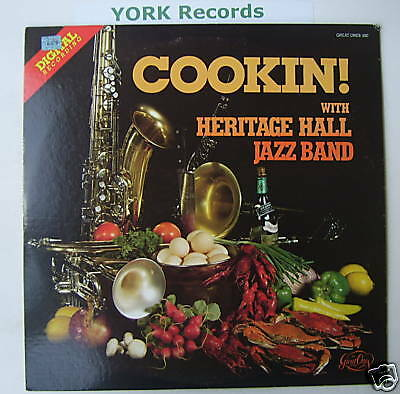 HERITAGE HALL JAZZ BAND - Cookin! - Ex Con LP Record