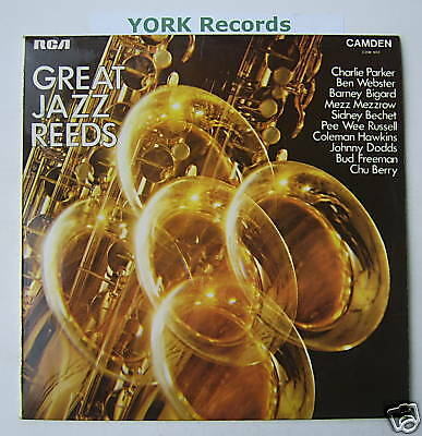 GREAT JAZZ REEDS - Various - Excellent Con LP Record