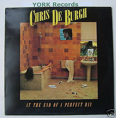CHRIS DE BURGH - At The End Of A Perfect Day - Ex LP