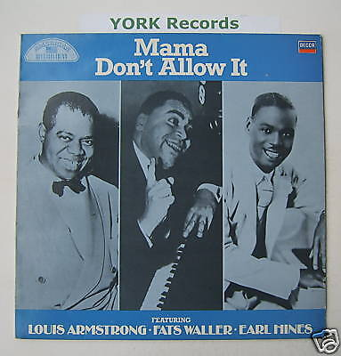 MAMA DON'T ALLOW IT - Various - Excellent Con LP Record