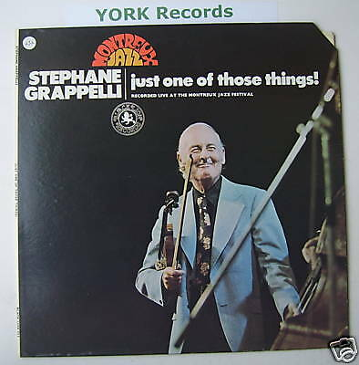 STEPHANE GRAPPELLI - Just One Of Those Things - Ex LP