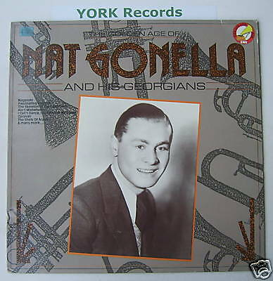 NAT GONELLA - The Golden Age Of ... - Ex Con LP Record