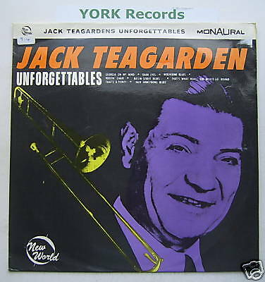 JACK TEAGARDEN - Unforgettables - Ex Con LP Record