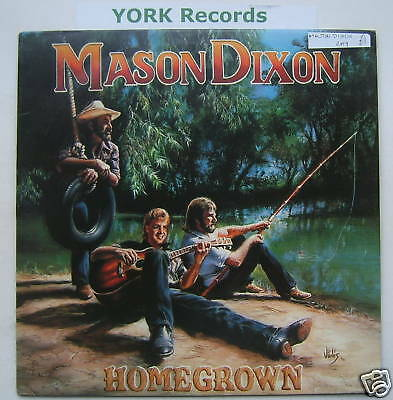 MASON DIXON - Homegrown - Excellent Condition LP Record