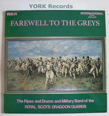 ROYAL SCOTS DRAGOON GUARDS - Farewell To The Greys - LP