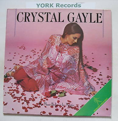 CRYSTAL GAYLE - We Must Believe In Magic - Ex LP Record