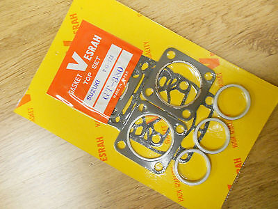 SUZUKI GT380J GT380K GT380L GT380M GT380B (73-77) Triples TOP END GASKET SET KIT