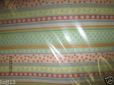 Longaberger 5 Yards Uncut Spring Parade   Fabric