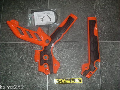 ACERBIS FRAME PROTECTOR COVER TO FIT KTM EXC 300 EXC300  2012 TO 2015