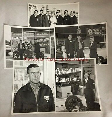 c1950s Race To Space Conoco Oil Contest Winner 8 x 10 Photographs Lot