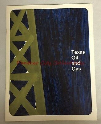 1967 Texas Oil and Gas Texana Mid Continent Oil Dallas