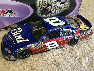 DALE EARNHARDT JR #8 Budweiser Stars & Stripes GOLD CHROME ACTION 1:24 DIECAST