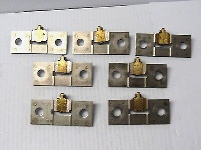 Lot Of 7 Square D Overload Relay Thermal Heater Unit Dd320 Ax15 - Used