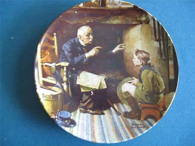 "Norman Rockwell ""The Veteran"" Heritage Series by Knowles Collector Plate"